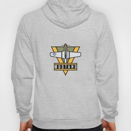 P-51 Mustang Fighter Aircraft - Yellow Hoody