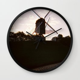 Bruges #1 Wall Clock