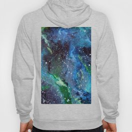 Galaxy (blue/green) Hoody