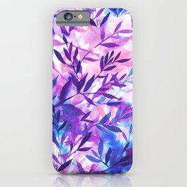 Changes Purple iPhone Case