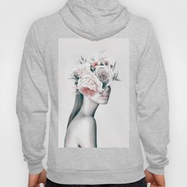 WOMAN WITH FLOWERS 11 Hoody
