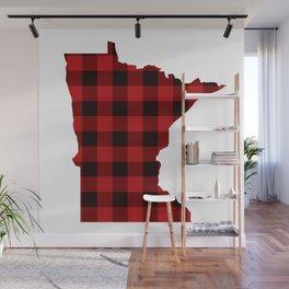 Minnesotans Love Flannel Wall Mural