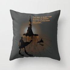 Roland's Quest Throw Pillow
