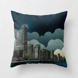 And the Embers Never Fade Throw Pillow