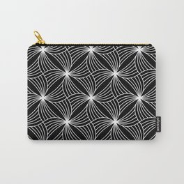 BLACK STORM, BLACK AND WHITE Carry-All Pouch