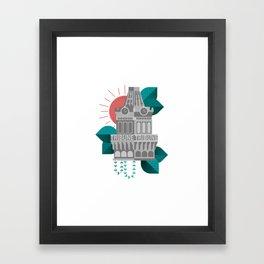 Oakland Tribune Tower Framed Art Print