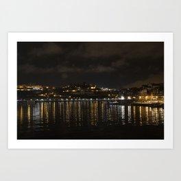 DUEROS' LIGHTS Art Print