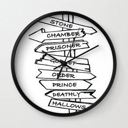 HP Series Signage Wall Clock
