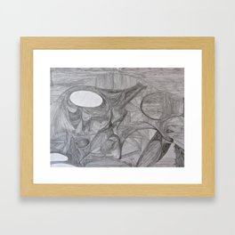 Pathways 5 Framed Art Print