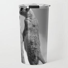 Meerkats, Fuerteventura. Travel Mug