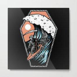 Deathwave Metal Print