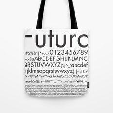 Futura (Black) Tote Bag