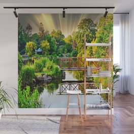 Nature's Reflections Wall Mural