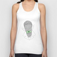 mike wrobel Tank Tops featuring Mike by clemfaster
