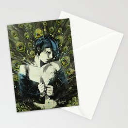 Black Pea Stationery Cards