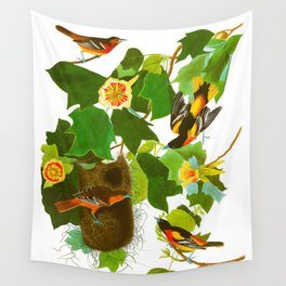 Baltimore Oriole Bird Wall Tapestry