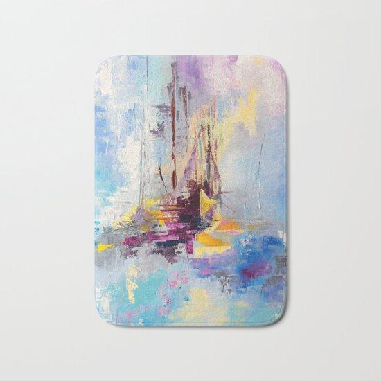 Illusive boats Bath Mat