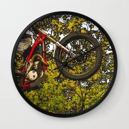 Airtime - Dirt-bike Racer Wall Clock