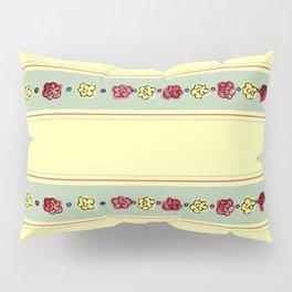 A Rosey Outlook Yellow Pillow Sham