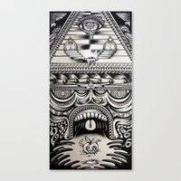 illuminati Canvas Prints featuring Illuminati by Mike Friedrich