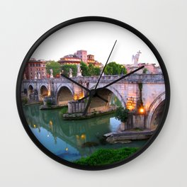 Ponte Sant'Angelo Wall Clock
