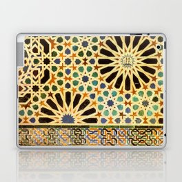 """""""Mexuar room"""". Details in The Alhambra Palace.  Laptop & iPad Skin"""