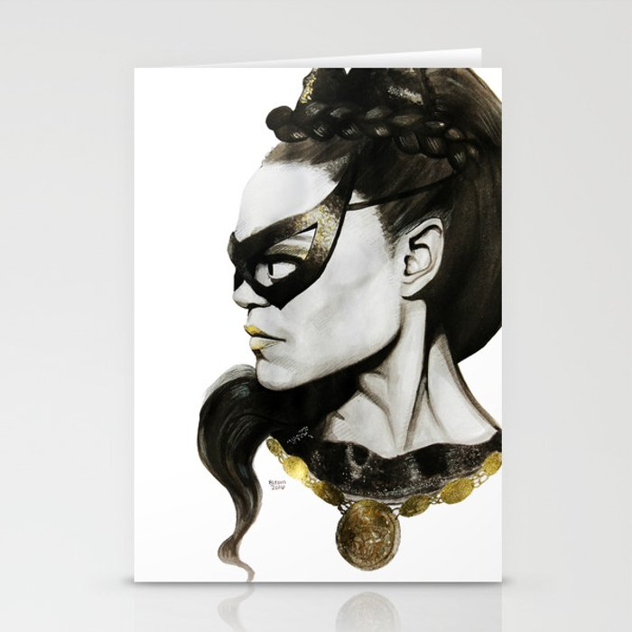 Eartha Kitt IS Catwoman Stationery Cards