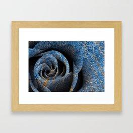 Susquehanna Winter Rose Framed Art Print