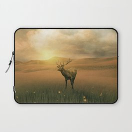 The deer into the lights Laptop Sleeve