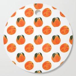 Peach Harvest Cutting Board