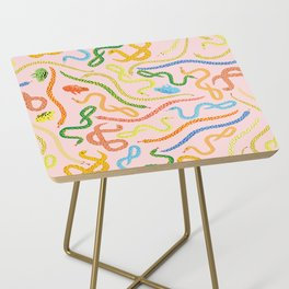 Snakes and Frogs Side Table