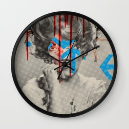 Another Portrait Disaster · Sweet Jane Wall Clock