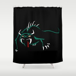 Hodag Shower Curtain