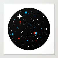 universe Canvas Prints featuring Universe by Terry Mack