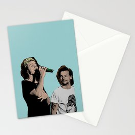 Pop Art Larry Stylinson  Stationery Cards