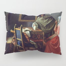 "Johannes Vermeer ""A Lady Drinking and a Gentleman"" Pillow Sham"