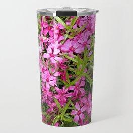 Pink phlox spring flower Travel Mug