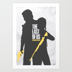 The Last Of Us - Remastered Art Print