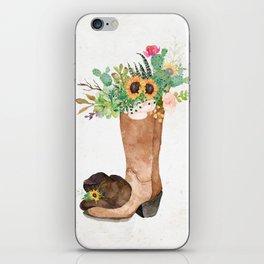 Southwestern Sunflower iPhone Skin