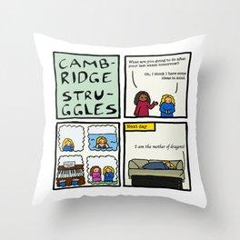 Cambridge struggles: Plans Throw Pillow