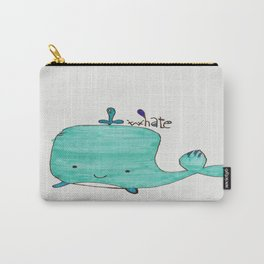 Whale you be my Valentine? Carry-All Pouch