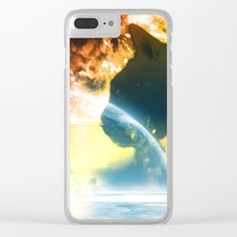 space kitty Clear iPhone Case