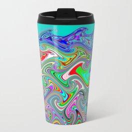 Wavewarping Travel Mug