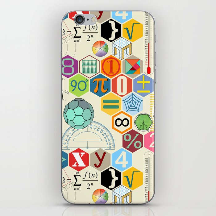 Math in color (little) iPhone Skin