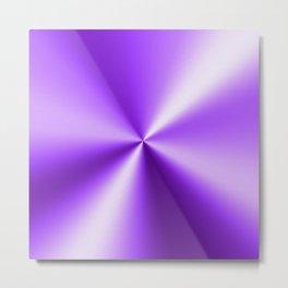 Metallic Purple Stainless Steel Print Metal Print