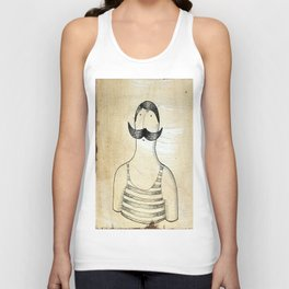 bather Unisex Tank Top