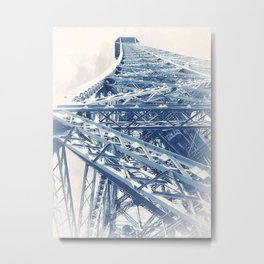 Tour Eiffel (Eiffel Tower) by GEN Z Metal Print