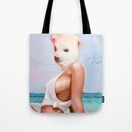 BI POLAR CHICK Tote Bag