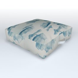 In the clouds Outdoor Floor Cushion