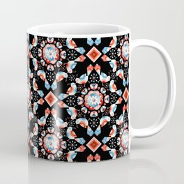 Lovebird Lattice Coffee Mug
